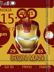 Iron Man 06 theme screenshot