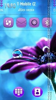 Water Drops 04 theme screenshot