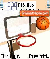 Basketball R05 theme screenshot