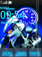 Suzuki theme screenshot