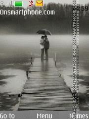 In the rain 01 es el tema de pantalla