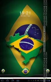 Скриншот темы Brasil 02