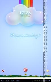 Have a nice day 01 theme screenshot