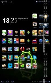 Скриншот темы Rising Android