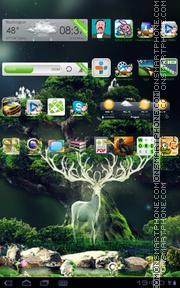 Forest Green 01 Theme-Screenshot