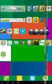 Capture d'écran Windows8 - Fantastic Icons thème