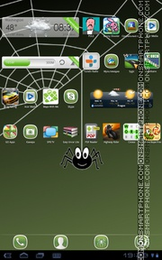 Crazy Spider Theme-Screenshot