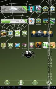 Crazy Spider theme screenshot