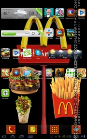 Mcdonalds 01 tema screenshot
