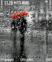Capture d'écran Rain thème