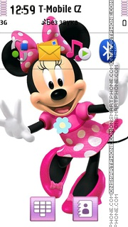 Minnie Mouse 07 theme screenshot