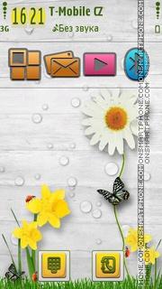 Скриншот темы Spring Time 03