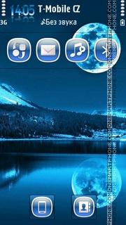 Night Reflection theme screenshot