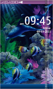 Under water 01 theme screenshot
