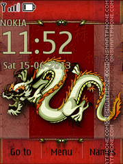 Dragon 2016 tema screenshot