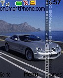 Mercedes-Benz SLR McLaren theme screenshot