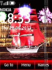 Скриншот темы Red Sails St. Petersburg