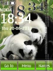 Pandas theme screenshot