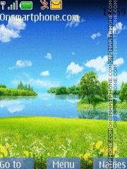Скриншот темы Summer Lake 01