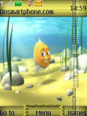 Under The Sea 01 theme screenshot