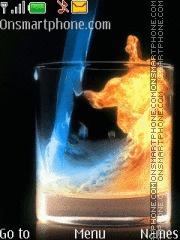 Fire And Water - 2 Elements es el tema de pantalla