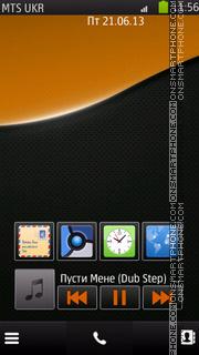 Black O es el tema de pantalla