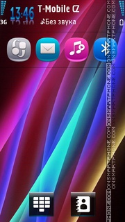 Neon Lights 03 theme screenshot