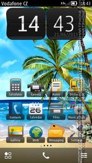 Palm Beach 02 es el tema de pantalla