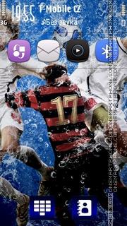 Liquid Football HD v5 theme screenshot