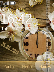 Flower tenderness tema screenshot
