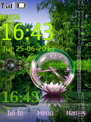 Lotus theme screenshot