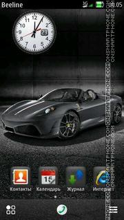 Скриншот темы Ferrari F430