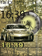 Auto Nissan theme screenshot