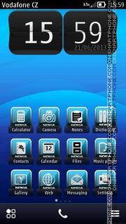 Xperia10 02 theme screenshot