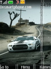 Car HD Mustang tema screenshot