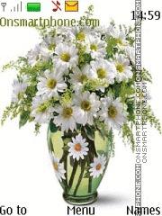 Capture d'écran Chamomile flowers in a vase thème
