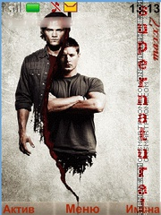 Supernatural tema screenshot