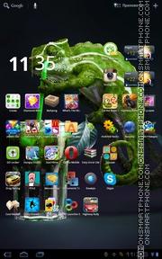 Chameleon 02 theme screenshot