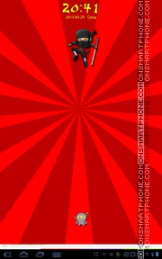 Ninja Kung Fu theme screenshot