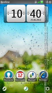 Drops theme screenshot