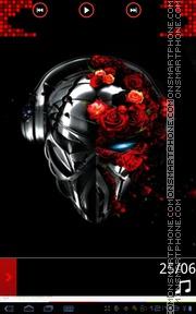 DJ Immortal theme screenshot