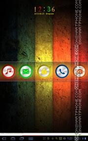 Скриншот темы Colorful Wood