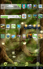 Forest 04 tema screenshot