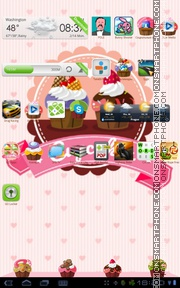 Cupcakes theme screenshot