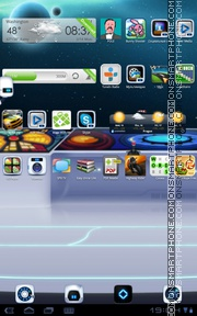 Captain Bot tema screenshot