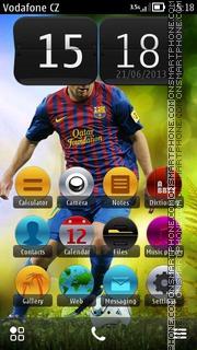 Messi Green HD v5 01 theme screenshot