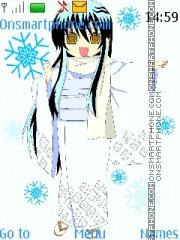 Yuki-onna Theme-Screenshot