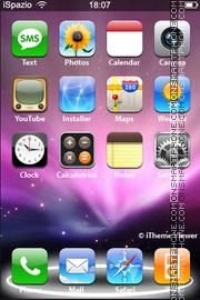 Скриншот темы iLeopard