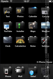 Black Touch 01 theme screenshot