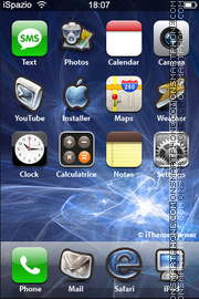 Andrea Blue theme screenshot